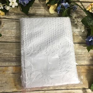 Lace Tablecloth White 60X84